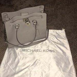 Michael Kors Hamilton Saffiano Leather Satchel Bag